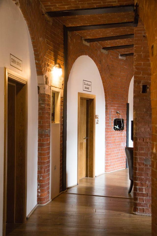 Spitbank Fort Bedroom corridor