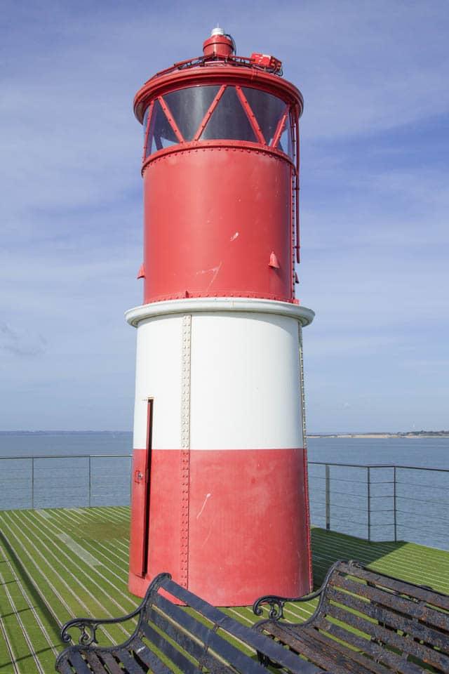 Lighthouse on Spitbank Fort