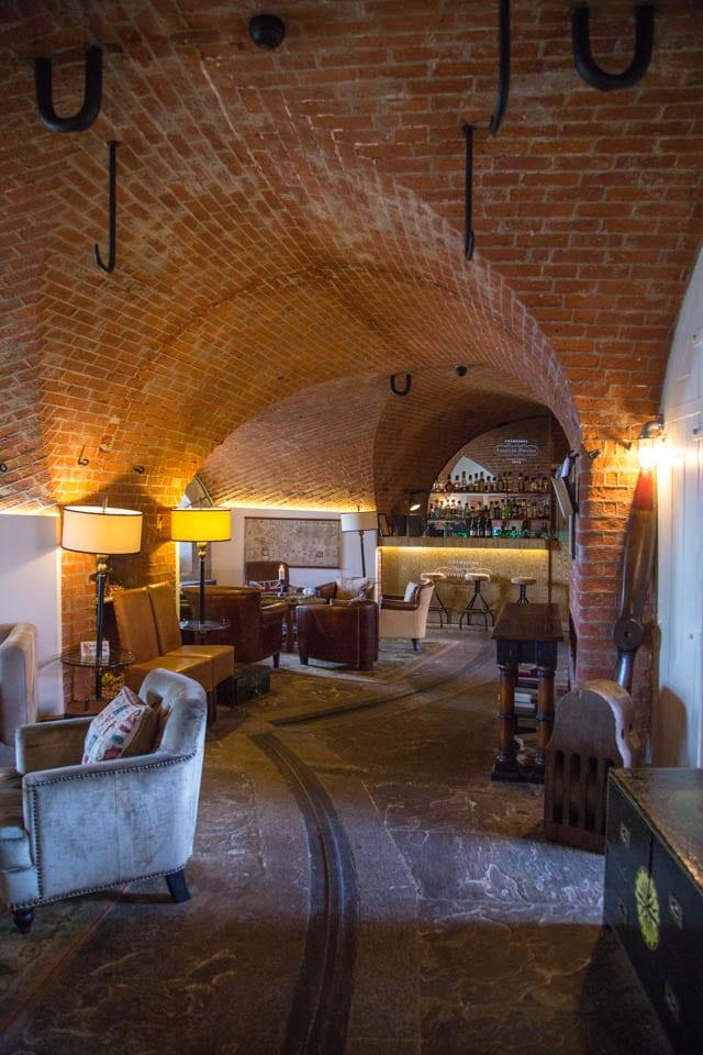 Bar at Spitbank Fort