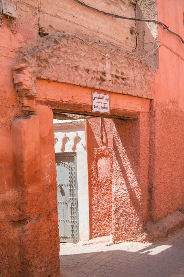 Typical Street in Marrakech