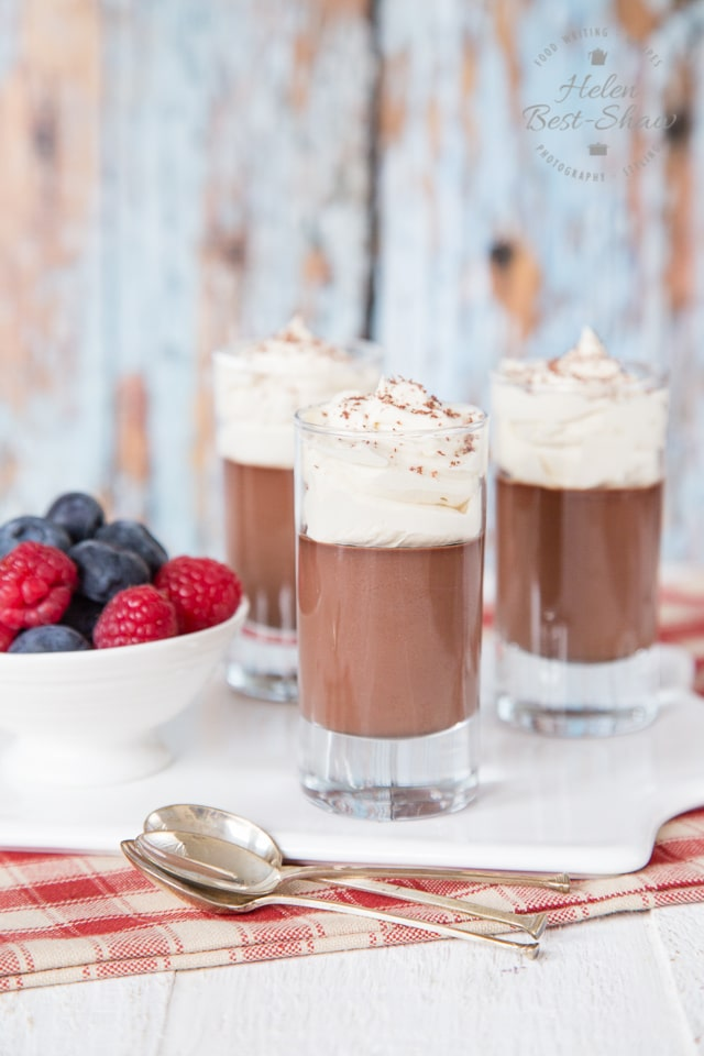 These malted chocolate pots are decadent, but easy to make dessert with only three ingredients.