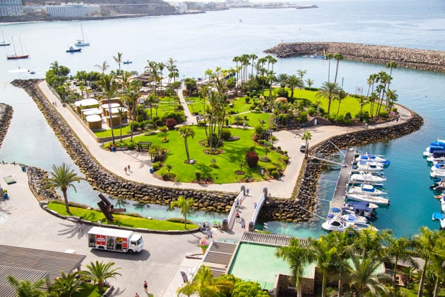 Maroa beach club Anfi Gran Canaria
