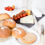 Delicious savoury chutney rolls, perfect for picnics, with cheese or a barbecued burger.