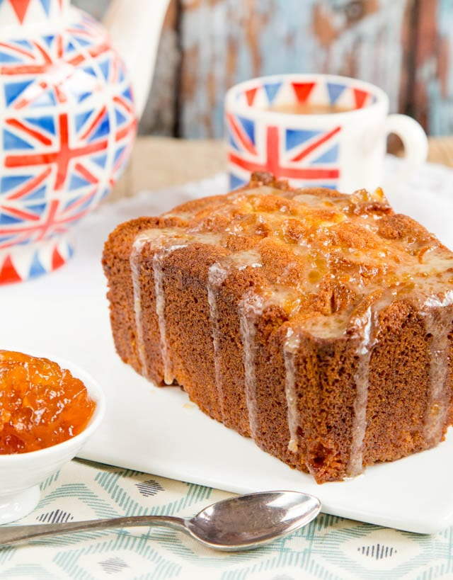 This sticky orange marmalade loaf cake is quick and easy to make, packed with flavour and a real tea time treat