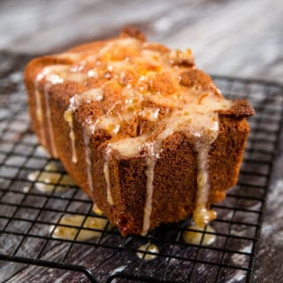 Sticky Orange Marmalade Loaf Cake