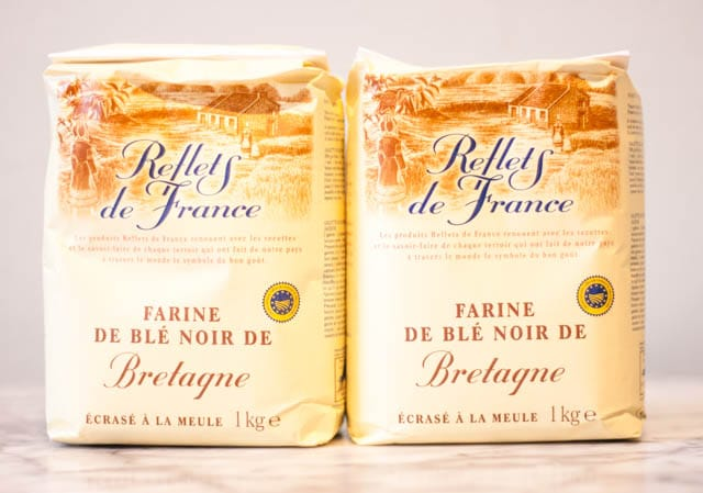 French supermarket haul - buckwheat flour