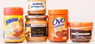 French supermarket haul - tartine spreads for bread