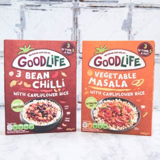Review – Goodlife Veggie Packed Ready Meals