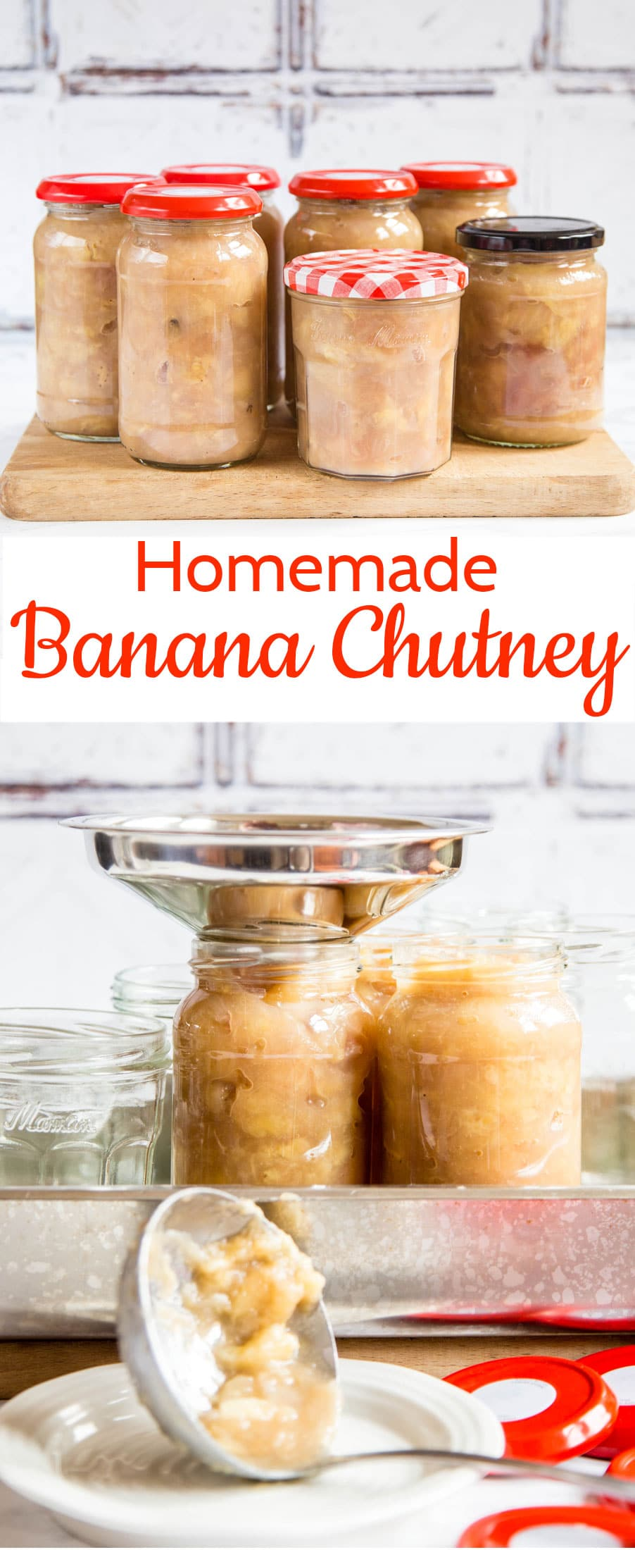 Banana chutney is so easy to make and the perfect accompaniment to curries, rice and dhals. The ideal preserve for a chutney novice.