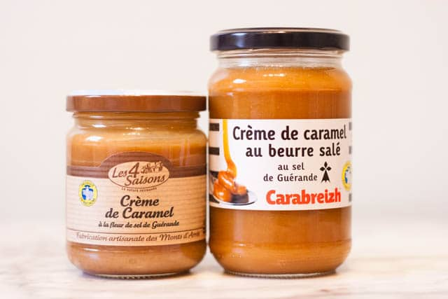French supermarket haul - salt caramel spread