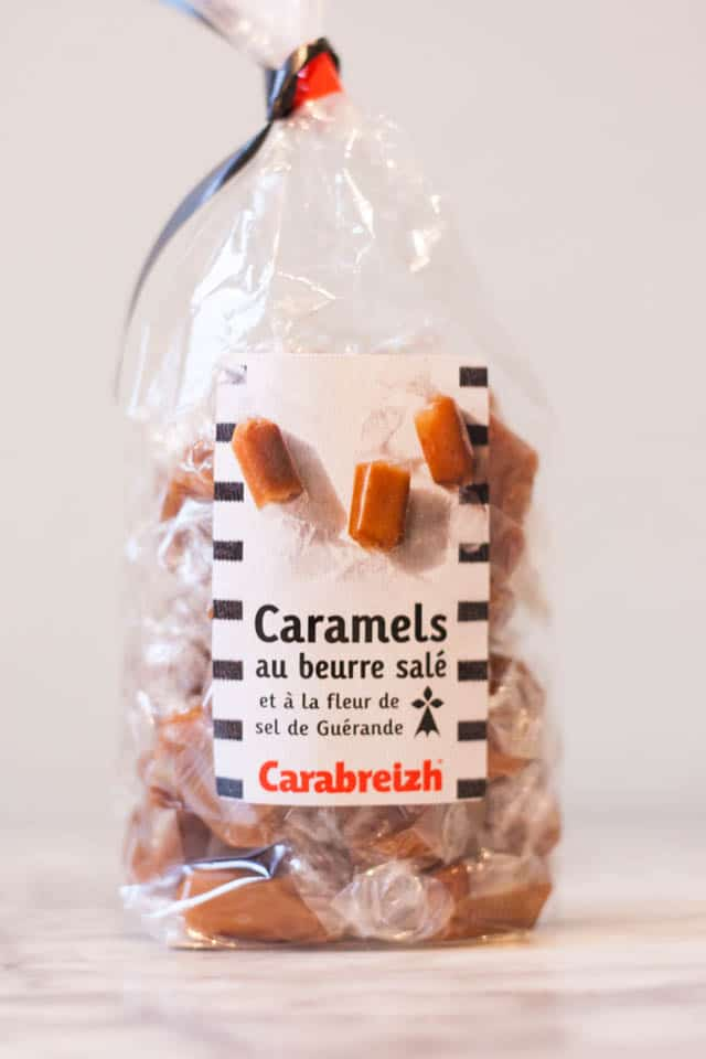 French supermarket haul - salt caramel sweets