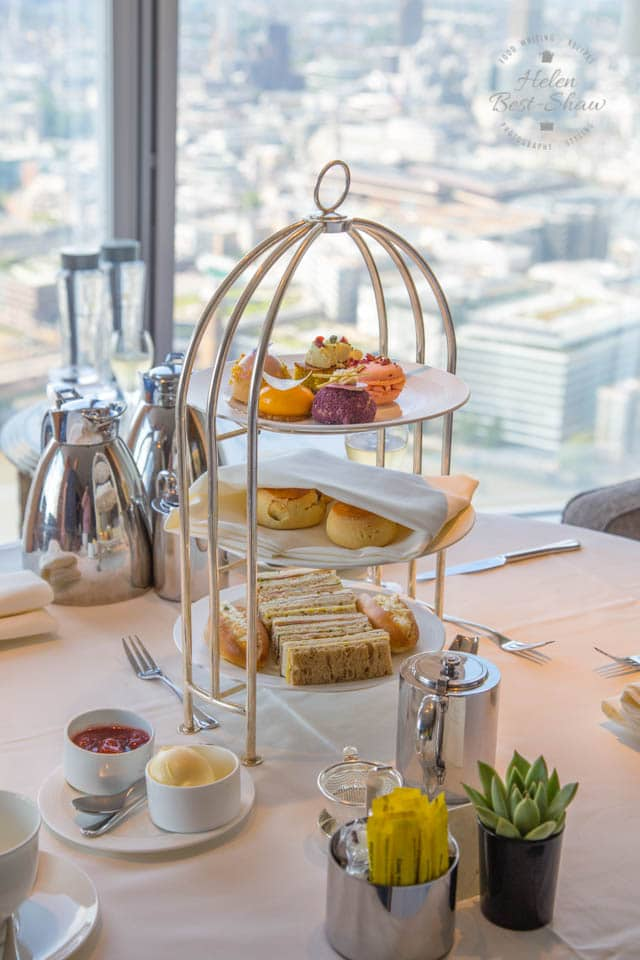 Afternoon tea at Shangri La London at the Shard