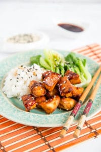 Delicious, quick and easy 4 ingredient sticky soy chicken. Serve with rice and steamed vegetable for a perfect worknight supper.