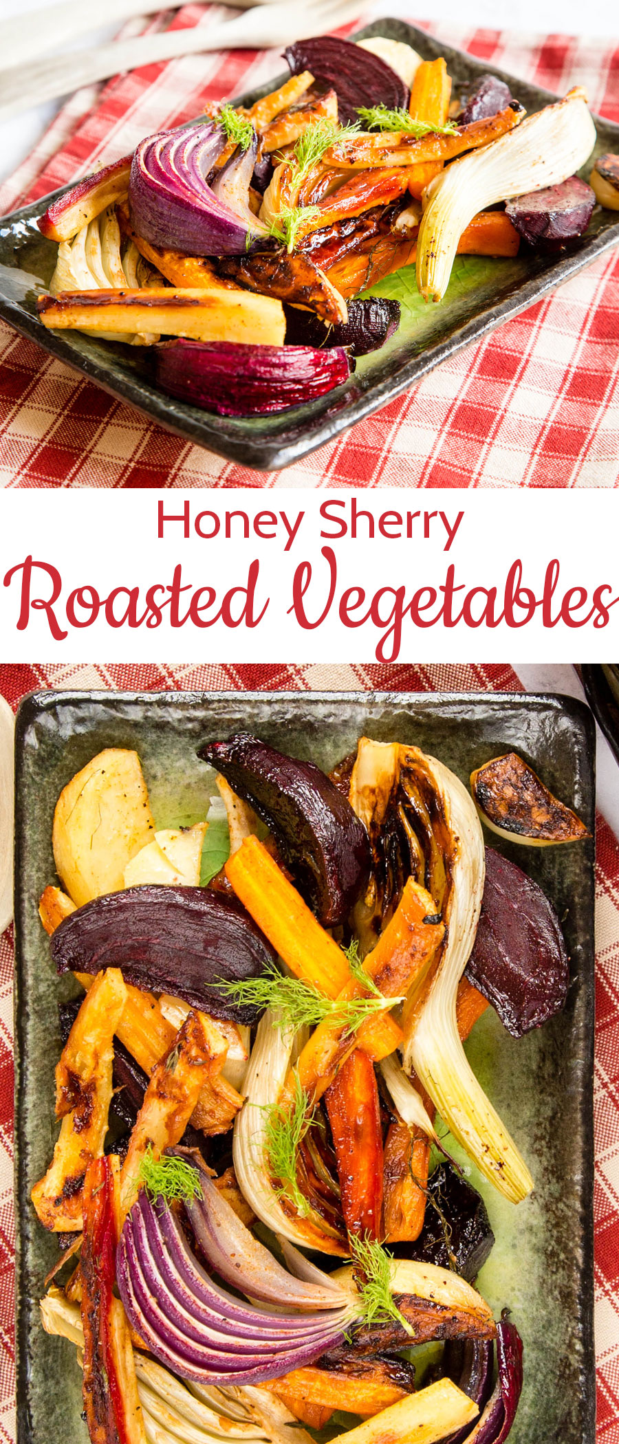 Nutty oloroso is the perfect base for our delicious honey and sherry glazed vegetables, make once and enjoy in three ways!
