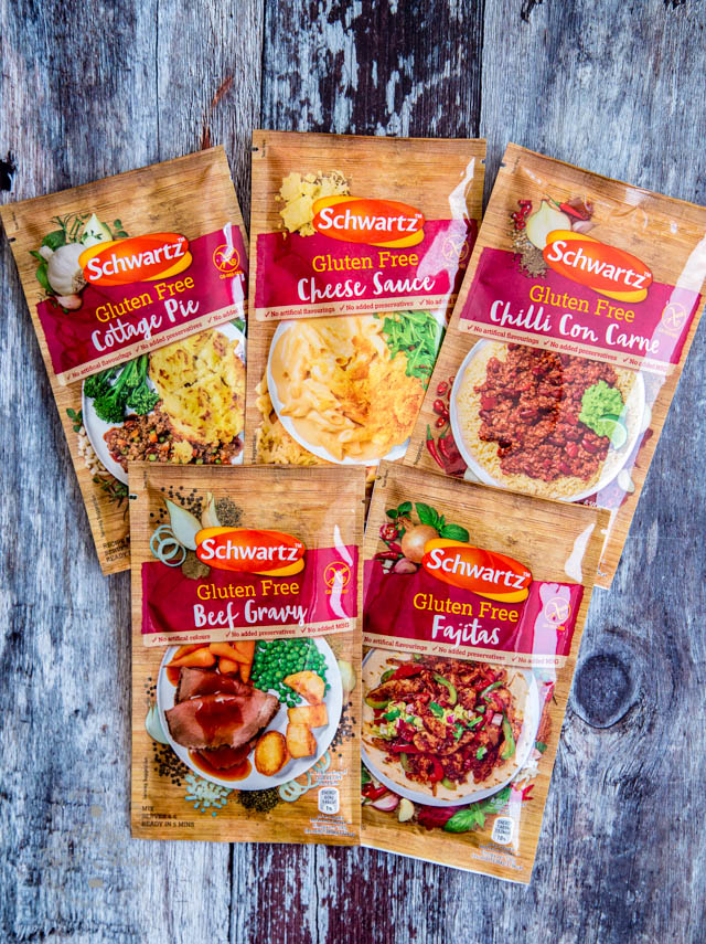 Schwartz Gluten Free Sauce Mixes
