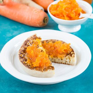 Delicious jam with a difference: carrot jam with parsnip.