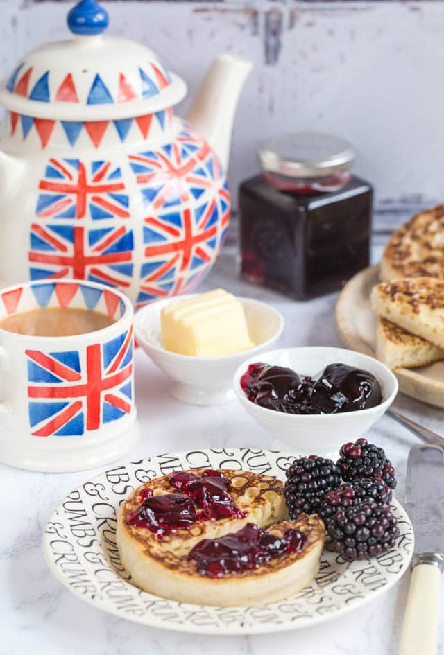 You'll love our delicious small batch blackberry and apple jelly. Perfect on a crumpet as a very British tea time treat.