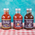 A selection of condiments from Stokes Sauces
