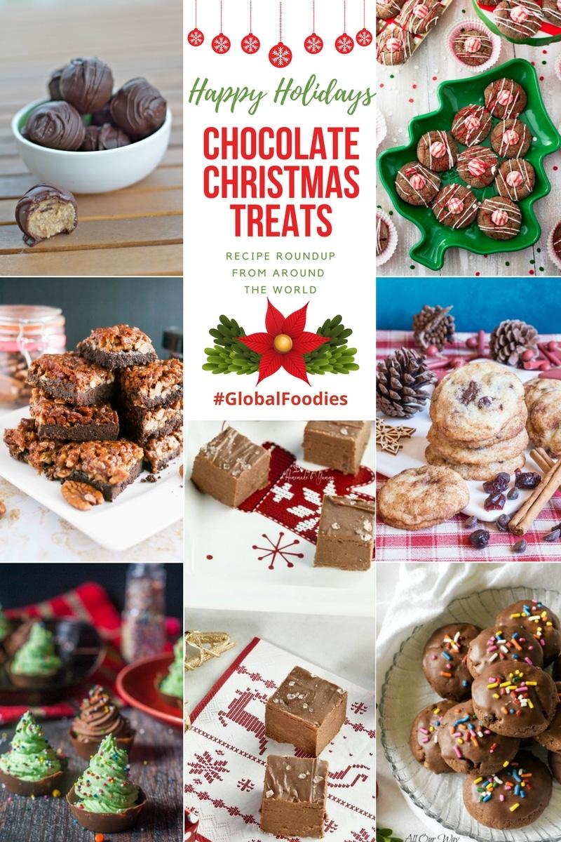 Chocolate Christmas treats for sharing, gifting or indulging.