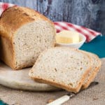 A delicious and wholesome yeasted loaf of bread made with kefir