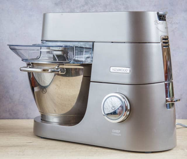 The Kenwood Chef Titanium - a powerful and adaptable kitchen machine