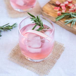 Infuse gin with rhubarb and ginger for a delicious home made liqueur