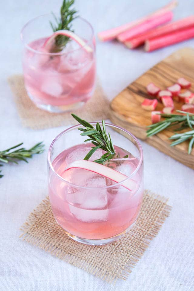 Homemade Rhubarb and Ginger Gin Recipe | Fuss Free Flavours