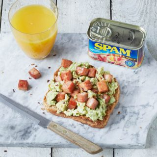 SPAM® Hot & Spicy Avocado Toast & Celebrate SPAM® Appreciation Week 2018