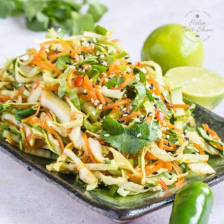 Asian Slaw or Bok Choi Salad {Vegan & Gluten Free}