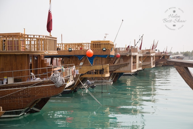 Traditional Dhows in Doha Qatar