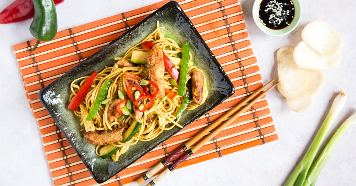 Easy Chinese Chow Mein Fakeaway Three Ways Fuss Free Flavours