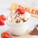 Three Ingredient Toblerone Ice Cream (no churn)
