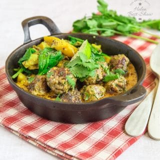 How to Make Beef Koftas with Sag Aloo {Dairy & Gluten Free}