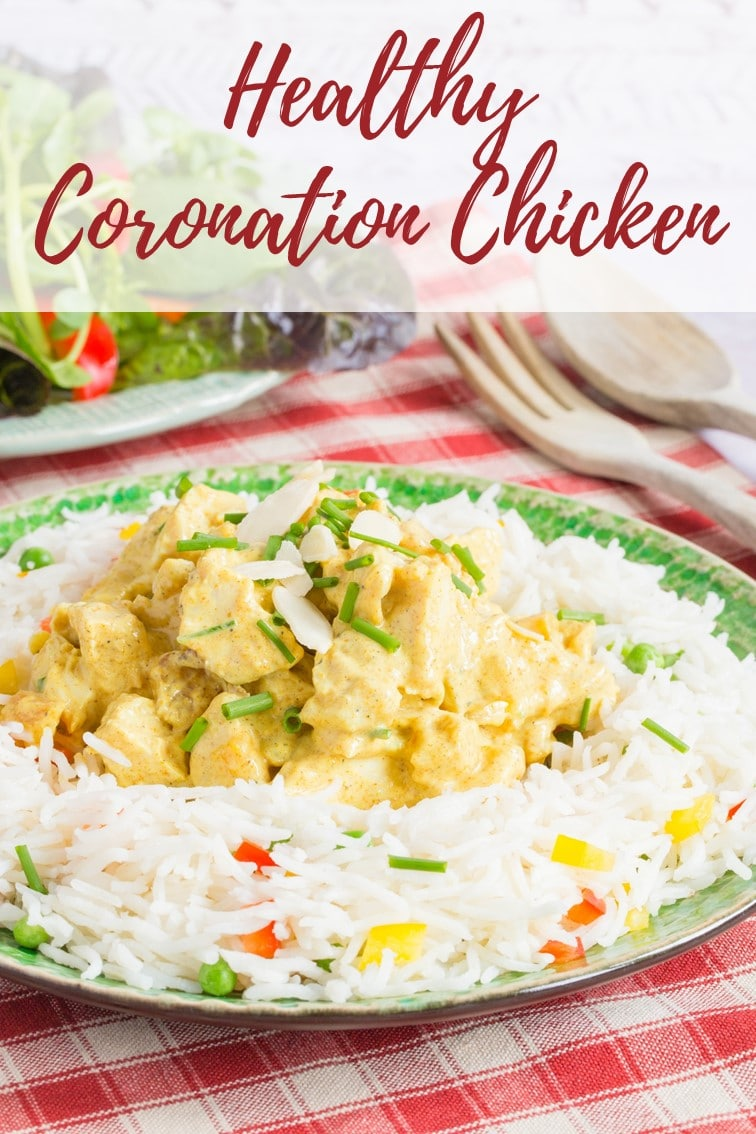 Delicious Amp Easy Healthy Coronation Chicken Recipe Fuss Free Flavours