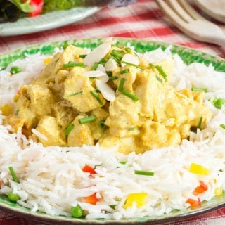 Healthy Coronation Chicken Recipe {Gluten Free, Keto}