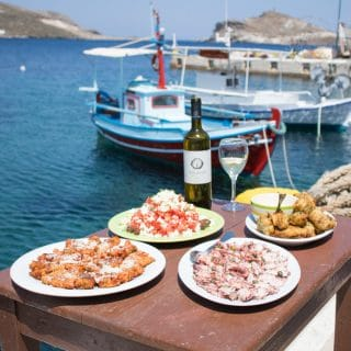 The Food of Tinos, Greece