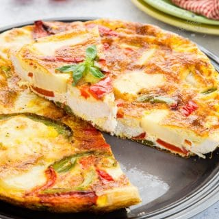 How to Make Leftover Roast Chicken Frittata