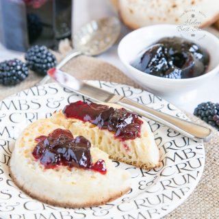 One Pot Blackberry Jelly – Three Ingredients, No Pectin {Vegan & GF}