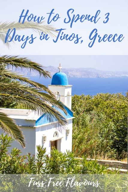 Tinos is one of the lesser known Greek Islands; with pretty villages, deep blue seas, and amazing food, it is a must visit in the Mediterranean! This is how to spend 3 days there!