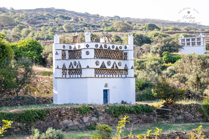 Dovecotes on the Greek island of Tinos