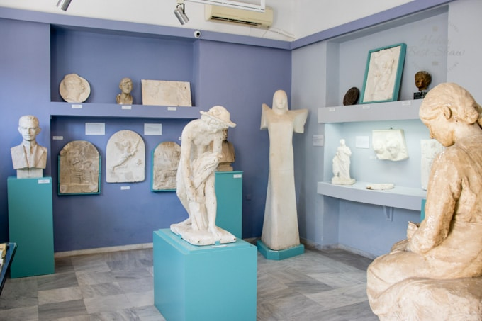 Marble Sculptures in Tinos