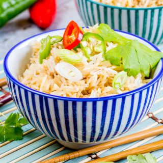 Instant Pot Chinese Rice (Pressure Cooker Chinese Rice)