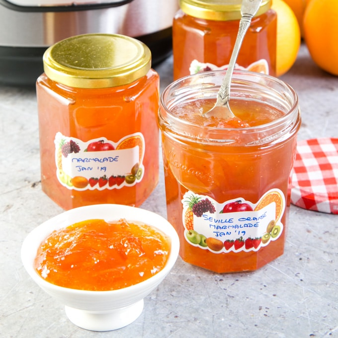 Instant Pot Seville Orange Marmalade (Electric Pressure Cooker) | Fuss Free Flavours