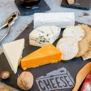How to Make an Etched Slate Cheeseboard With The Cricut Maker