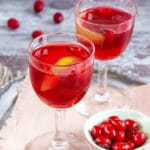Spiced Cranberry Vodka with Orange