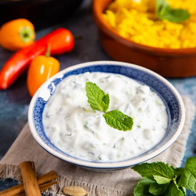 Easy Raita Recipe With Cucumber