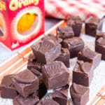Easy Chocolate Orange Fudge