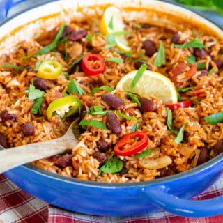 Easy Mexican Rice and Beans